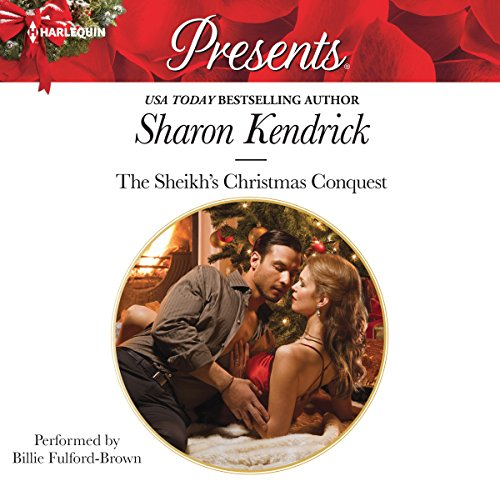 The Sheikh's Christmas Conquest cover art