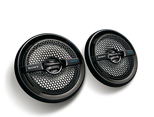 Sony XSMP1611 6.5-Inch Dual Cone Marine Speakers (Black)
