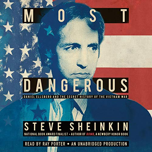 Most Dangerous audiobook cover art