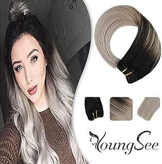 Best black to dark grey ombre hair Reviews