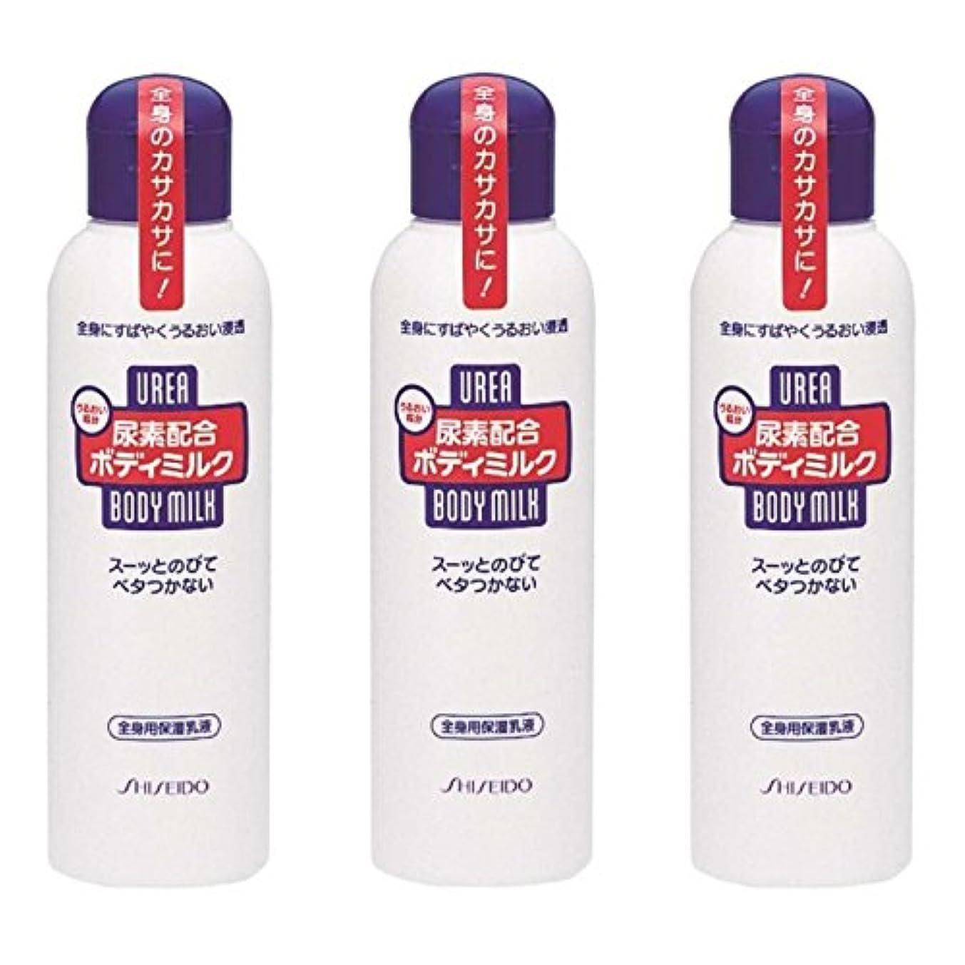 カード給料一緒【セット品】尿素配合 ボディミルク 150ml ×3個