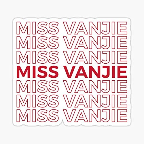Miss Vanjie RuPaul's Drag Race Sticker - Sticker Graphic - Auto, Wall, Laptop, Cell, Truck Sticker for Windows, Cars, Trucks