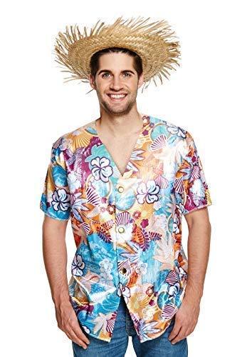 Camisa hawaiana para hombre, estilo hawaiano, fiesta, floral, verano, playa, surf, abotonado