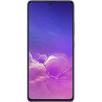 "Samsung Galaxy S10 Lite (128GB, 8GB RAM) 6.7"", Snapdragon 855, 4500mAh Battery, Dual SIM GSM Unlocked Global 4G LTE (T-Mobile, AT&T, Metro, Straight Talk) International Model SM-G770F/DS (Prism Black)"