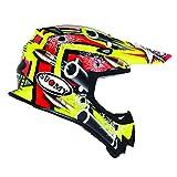 Suomy Casco Motocross MR Jump Bullet, Multicolor (Bullet Yellow), M