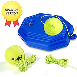 VGEBY Tennis Trainer, Tennis Self-study Rebound Player Baseboard with 2 Balls for Beginner:Maxmartyn