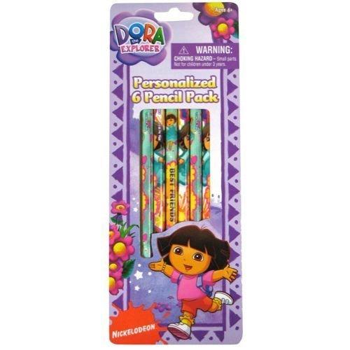 3 Pk Dora the Explorer Pencils by GLOBAL DESIGN CONCEPTS