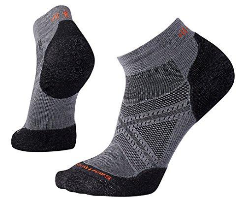 Smartwool Men's PhD Run Light Elite Low Cut Socks Graphite X-Large