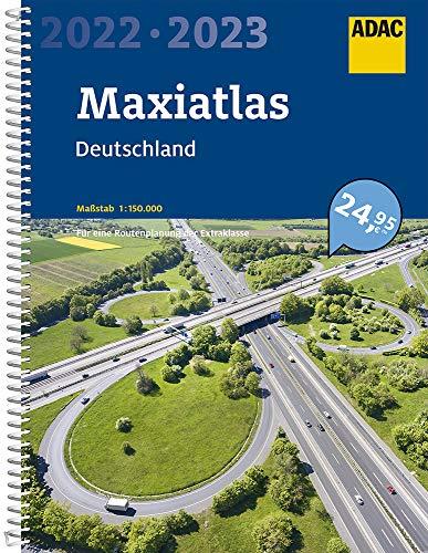 ADAC Maxiatlas 2022/2023 Deutschland 1:150 000 (ADAC Atlanten)