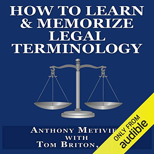 How to Learn & Memorize Legal Terminology Titelbild