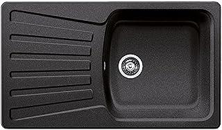 BLANCO Nova 5 S Küchenspüle, Silgranit, anthrazit-schwarz, 510461
