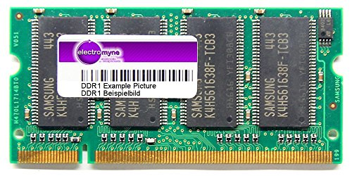 256MB Siemens DDR1 Notebook RAM PC2100S 266MHz 200pin SO-DIMM SDN03264A1B41SA-75 (Generalüberholt)