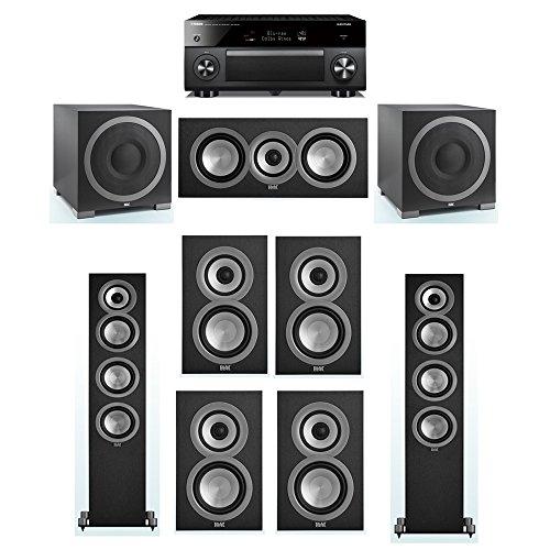 Buy Bargain ELAC Uni-Fi 7.2 System with 2 ELAC UF5 Floorstanding Speakers, 1 ELAC UC5 Center Speaker...