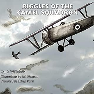 Biggles of the Camel Squadron audiobook cover art