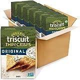 Organic TRISCUIT Thin Crisps Crackers, Original Flavor, 6 Boxes (6.5 oz.)