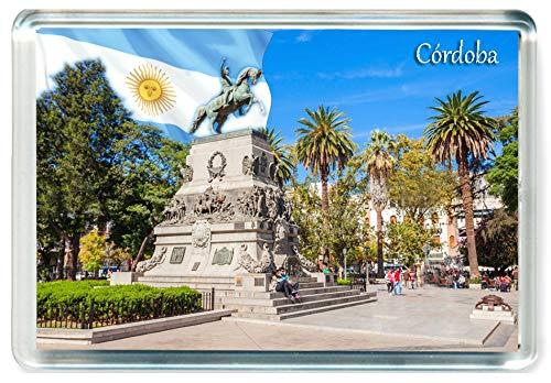 I223 Córdoba Jumbo Imán para Nevera Argentina Travel Fridge Magnet