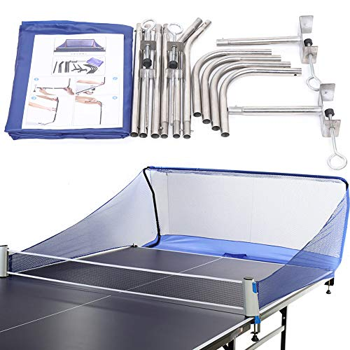 Kaibrite Tischtennisball Fangnetz, Ballfangnetz, Tischtennisball-Sammlernetz Training für das Multi-Ball-Training von Tischtennis und automatischer Roboter-Servierpraxis, Tischtennis-Sicherheitsnetz