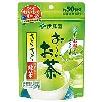 伊藤園 お~いお茶 さらさら抹茶入り緑茶 80g 12袋