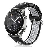 Kobmand Correas Compatible con Huawei Watch GT 2 Pro. Pulsera de 22 mm de repuesto y silicona para...