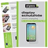 dipos I 2X Schutzfolie matt kompatibel mit Alcatel One Touch Pop S9 Folie Bildschirmschutzfolie