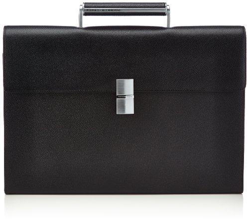 Porsche Design Herren French Classic 3.0 BriefBag FS Henkeltaschen, Schwarz (black 900), 41x29x7 cm
