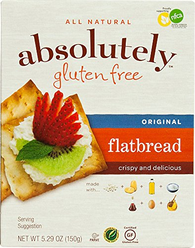 Absolutely Gluten Free Flatbread Original -- 5.29 oz Pack of 2