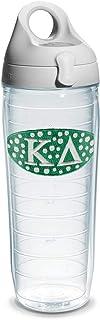 Tervis Kappa Delta Sorority Water Bottle with Lid, 24 oz, Clear -