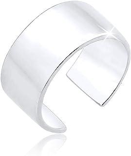 اقراط بتصميم اصفاد للاذن عصرية اساسية لاصحاب المدونات للنساء من الفضة الاسترليني عيار 925 من ايلي