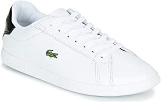 Lacoste Graduate 120 1 SFA Women's Sneakers, White/Black