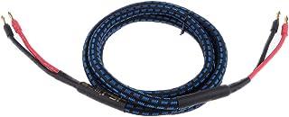 FITYLE Bi-Wire Audio Loudspeaker/Speaker HiFi Cable, Oxygen-Free Copper Cord Wire, 2Meters