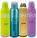 Nike Deodorant for Women, Pack of 4