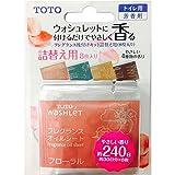 TOTO トイレ用芳香剤 ウォシュレット後付けフレグランス 詰替えシート(シート8枚入) TCA239
