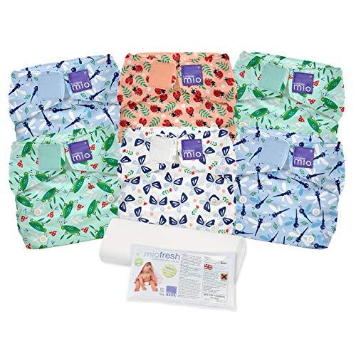 Bambino Mio, miosolo set de pañales de tela, vida de insectos