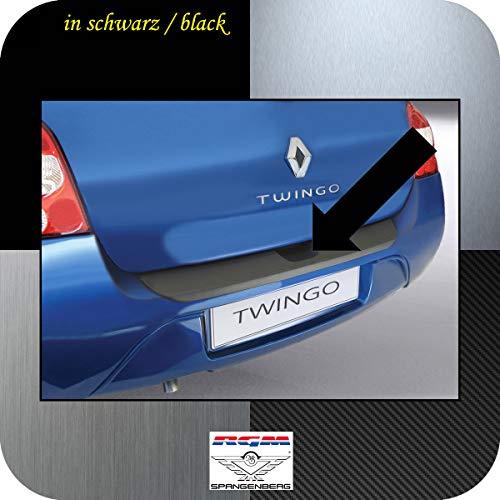 Richard Grant Mouldings Ltd. Protection de seuil de chargement RGM - Noir - Pour Renault Twingo II à hayon 3 portes - Phase I avant Facelift - Années de construction 09.2007-12.2011 RBP147