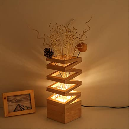 Amazon.es: mesas rusticas de madera - Lámparas de mesa y ...