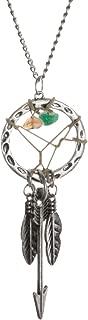 SPUNKYsoul Bohemia Dreamcatcher Pendant Long Feather & Arrow Necklace Collection