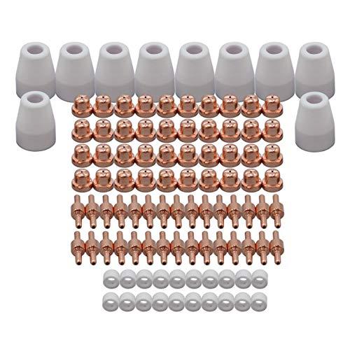 PT31 LG40 Plasma Keramikdüse Elektrode Schneiddüse für CUT-50D CUT50 CT-312 Schneiden Consumable 100 Stück