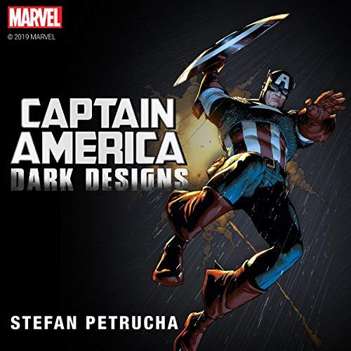 Captain America: Dark Designs audiobook cover art
