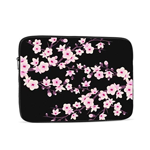 Cherry Blossoms 13 Inch Laptop Sleeve Bag Compatible with 13.3' Old MacBook Air (A1466 A1369) Notebook Computer Protective Case Cover