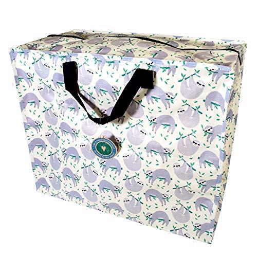 LS-Design XXL Jumbo Bag Recycled Faultier Riesen-Tasche Allzwecktasche Shopper