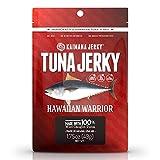 Kaimana Ahi Tuna Jerky Hawaiian Warrior 1.5 Ounce - Paleo Style - Premium Fish Jerky Made in the USA. High in Omega 3's, All Natural and Wild Caught