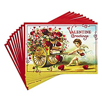 Hallmark Pack of Valentines Day Cards Valentine Greetings  10 Valentine s Day Cards with Envelopes