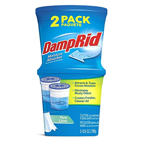 Why Choose DAMPRID Refillable Absorber, Pure Linen Twin Pack (2 x 10.5 Oz. tubs) | Attract and Trap ...