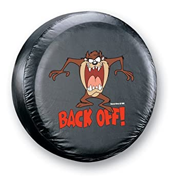 "The Taz ""Back-Off"" Spare Tire Cover from Plasticolor"