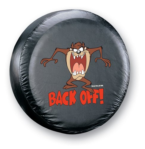 Plasticolor 000797R01 Taz Tazmanian Devil Back Off! Spare Tire Cover