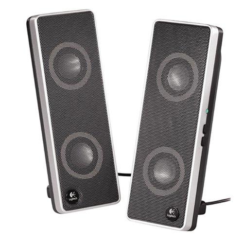 Best Price Logitech V10 Notebook Speakers (Black/Silver)