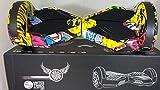UNITED TRADE Hoverboard électrique Trottinette électrique gyropode Overboard, Balance Scooter Skateboard avec lumières LED & Bluetooth, deux roues 8 pouces JOKER avec certification UL 2272
