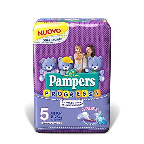 Pampers Fortschritte, 24Windeln–Micro, Größe 0(1–2,5kg) 5 Junior (11-25 kg)