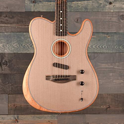 Fender American Acoustasonic Telecaster Sonic Grey w/Premium Gig Bag