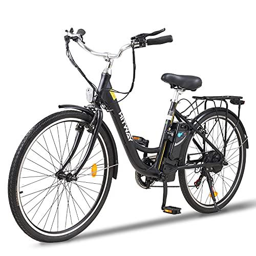 """Vélo électrique HITWAY 26"""" avec Moteur 250W, Modes de 7 Vite"""